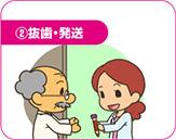 2.抜歯・発送