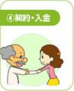 4.契約・入金